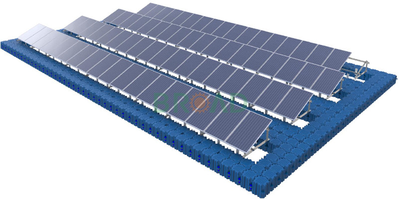 floating solar mounting system