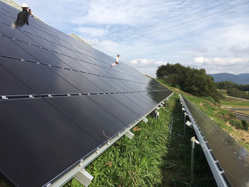 on grid pv mounting system