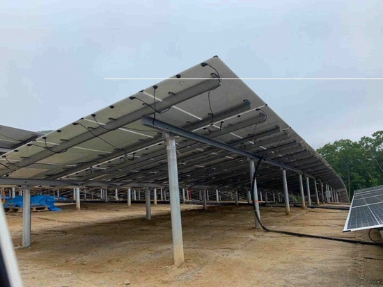 Pile ground solar mounting systems